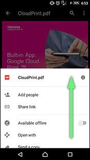 TOSHIBA TEC Google Cloud Print